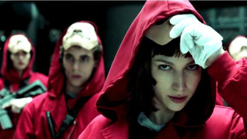 Séries: la saison 4 de «La Casa de Papel» débarque en avril, Netflix diffuse un teaser