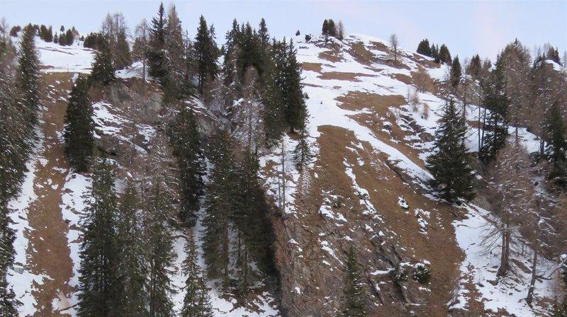 L'accident s'est produit sur un sentier de randonnée à Splügen.