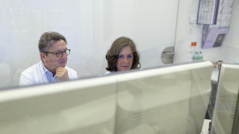 Le réseau national pour les données de santé doit englober à l'avenir les hôpitaux cantonaux. (Illustration)