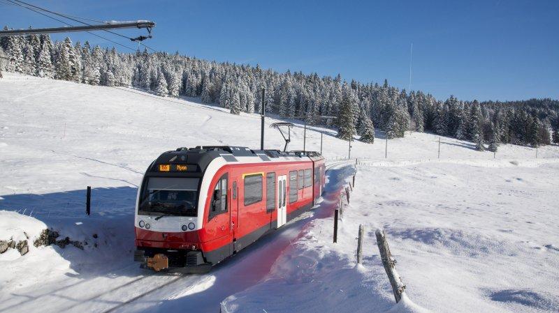 Nyon: de nouvelles rames pour le petit train rouge