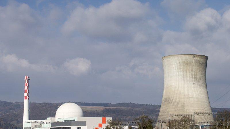 Argovie: la centrale nucléaire de Leibstadt à l'arrêt suite à un problème technique