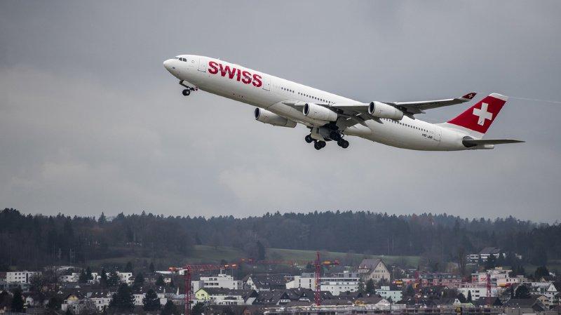 Transport aérien: Swiss augmente le nombre de passagers transportés en 2019