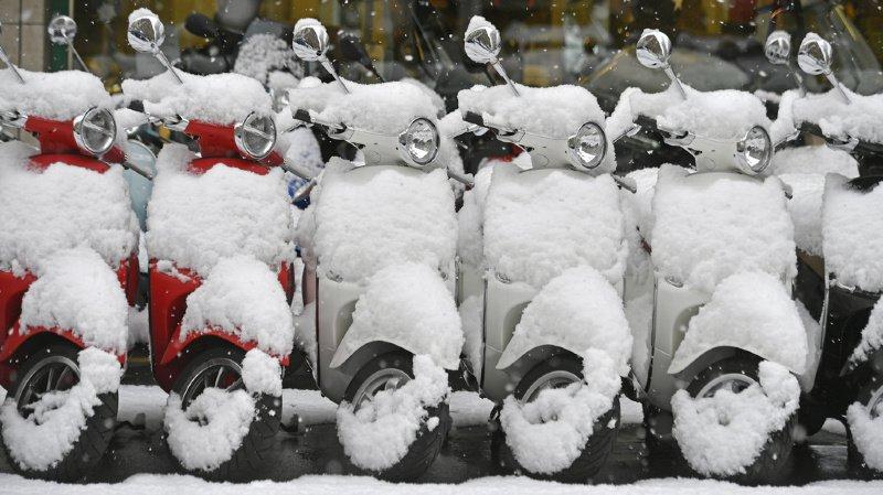 Le marché des scooters subit un violent coup de froid.