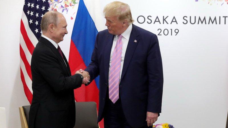 Le président américain, Donald Trump (à gauche) et son homologue russe, Vladimir Poutine, n'ont jamais caché leur entente. (illustration)