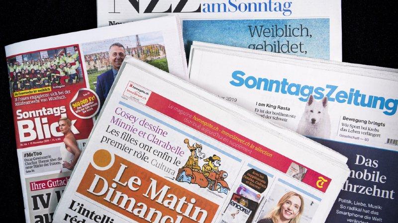 Qu'est-ce qui a retenu l'attention des journaux dominicaux? On fait le tri pour vous (illustration).