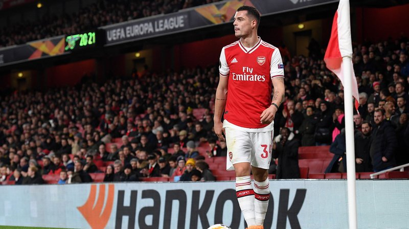 Football: Granit Xhaka pourrait quitter Arsenal et rejoindre Hertha Berlin