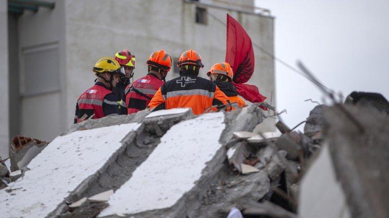 Séisme en Albanie: les spécialistes suisses toujours sur le terrain