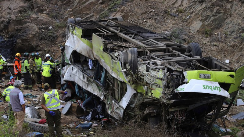 Chili: un accident de bus fait au moins 21 morts dans le nord du pays