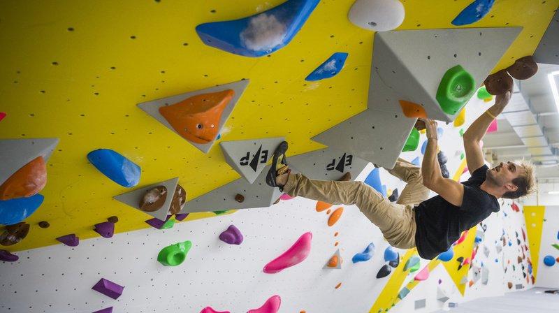 La salle de Villeneuve permet de pratiquer la vitesse, la difficulté et le bloc. (Illustration)
