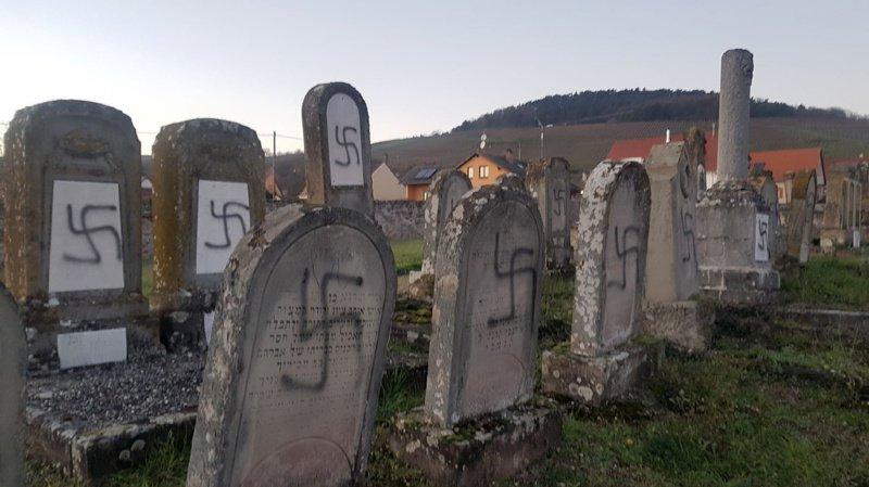 France: profanation d'une centaine de tombes dans un cimetière juif