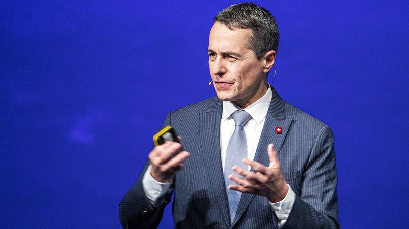 Suisse - UE: le conseiller fédéral Ignazio Cassis plaide pour l'accord-cadre