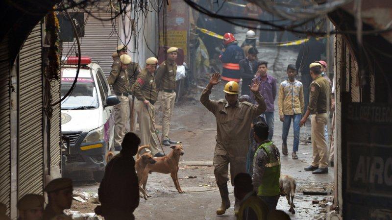 Les incendies mortels dans les usines délabrées de New Delhi sont fréquents.