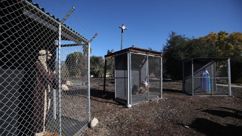 Etats-Unis: Jésus, Marie et Joseph en réfugiés détenus dans une crèche