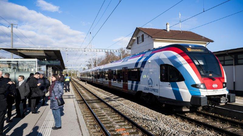 Léman Express: la grève en France vient ternir le lancement dimanche
