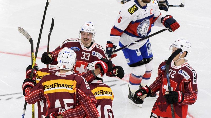 Hockey sur glace: la Suisse se défait facilement de la Norvège