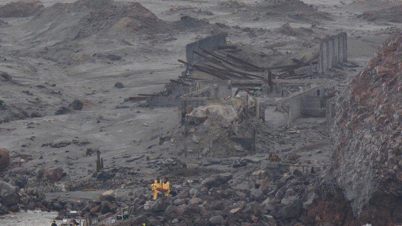 Au moment de l'éruption, 47 personnes se trouvaient sur l'île.