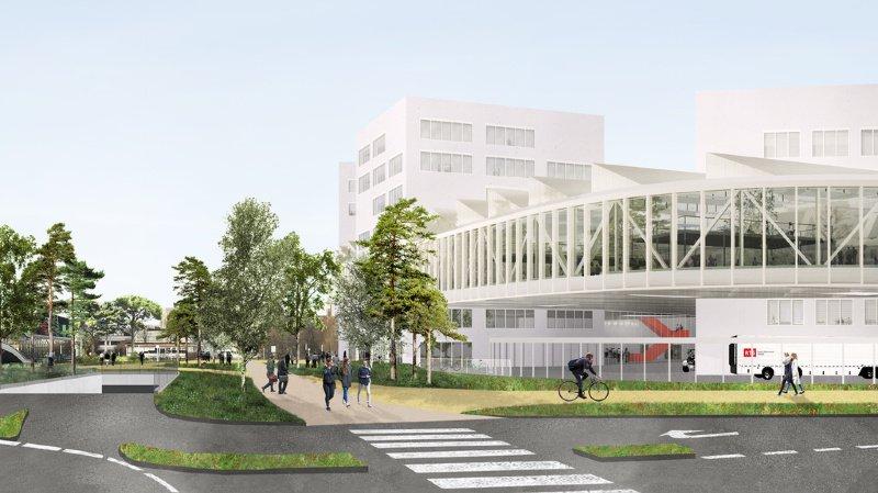Médias: nouveau bâtiment pour la RTS sur le site de l'EPFL en 2025