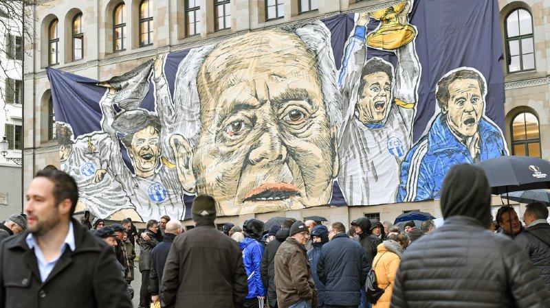 Zurich: la grande famille du football a rendu un dernier hommage à Köbi Kuhn