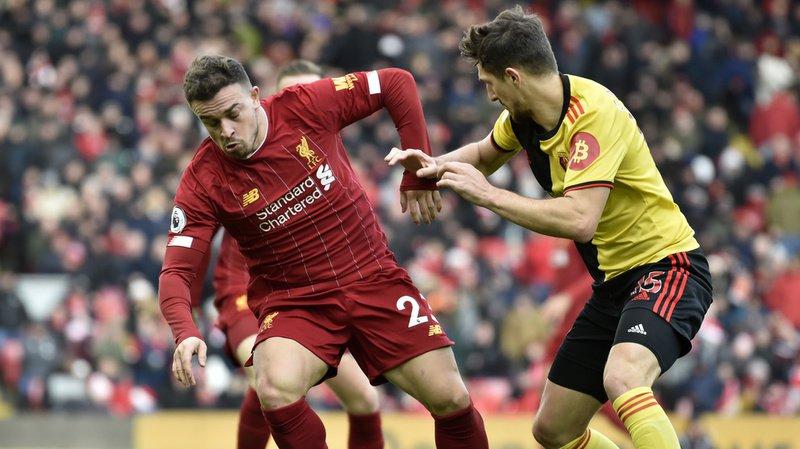 Xherdan Shaqiri avait disputé quelques rencontres avec Liverpool récemment. (Archives)