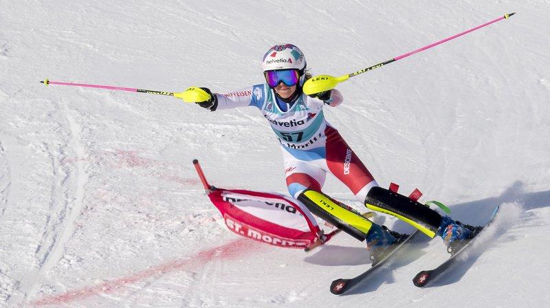 Ski alpin: les Suissesses déçoivent au slalom parallèle de St. Moritz, remporté par Petra Vlhova