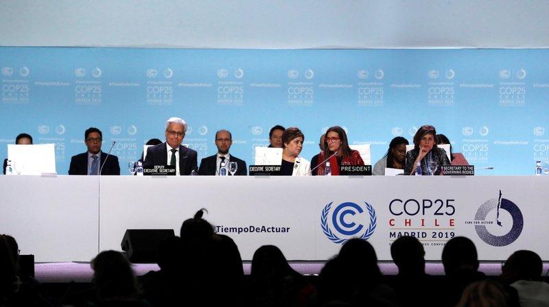 Climat: la délégation suisse regrette l'accord minimal adopté lors de la COP25
