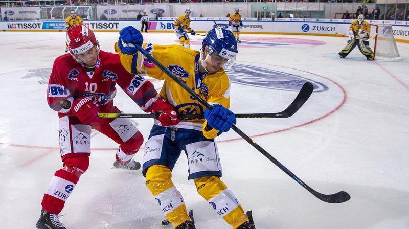 Hockey - Coupe de Suisse: Davos bat Rapperswil-Jona et se qualifie pour la finale