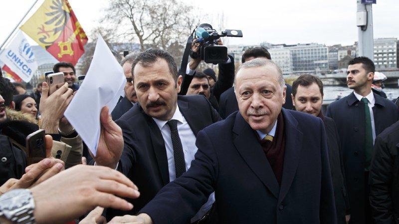 Forum mondial pour les réfugiés avec Erdogan: l'espace aérien genevois sous haute surveillance