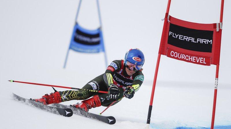 Ski alpin: Mikaela Shiffrin déclare forfait pour Val d'Isère