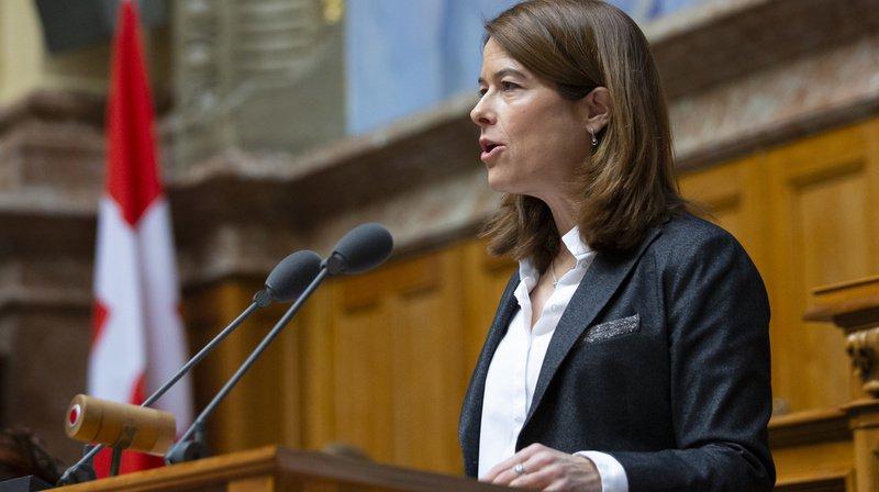 La présidente du PLR Petra Gössi veut rempiler pour deux ans
