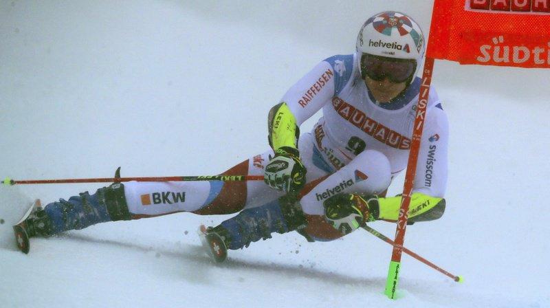 Belle performance de Marco Odermatt lors de la première manche du géant.