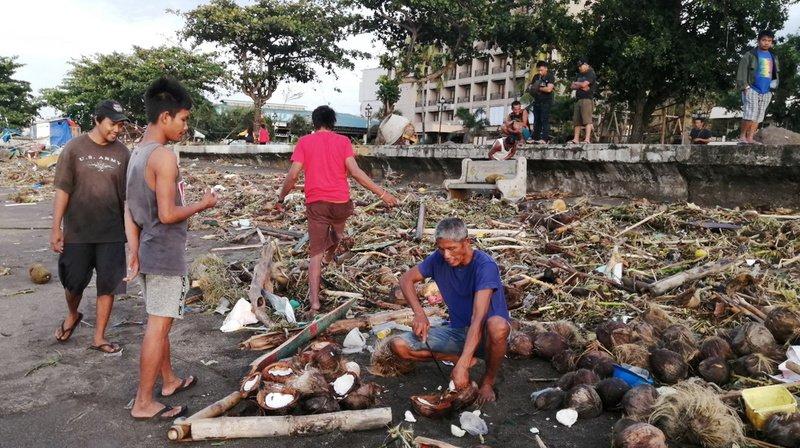 Philippines: le typhon Phanfone a fait au moins 16 morts le jour de Noël