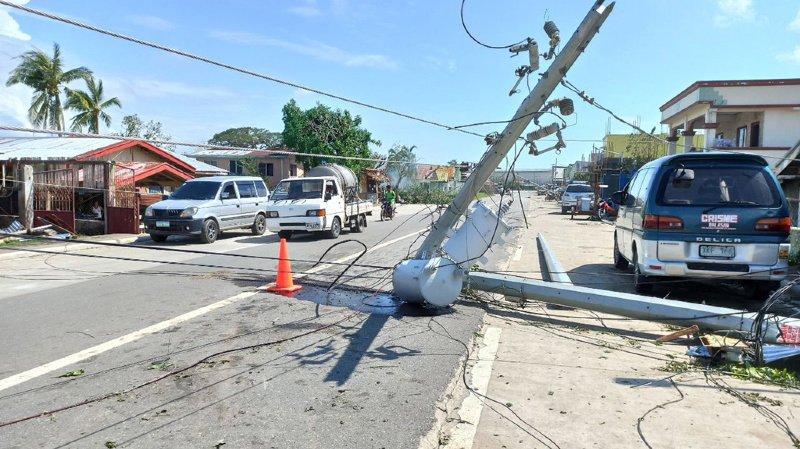 Une vingtaine de typhons et tempêtes tropicales balayent chaque année en moyenne les Philippines.