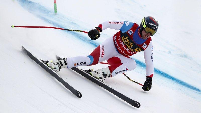 Ski alpin: Beat Feuz termine 2e de la première descente de Bormio