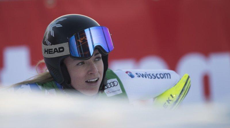 Ski alpin: 4 Suissesses dans le top 10 du 1er entraînement de la descente de Zauchensee