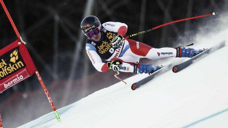 Ski alpin: Gino Caviezel 5e et Loïc Meillard 8e après le super-G du combiné de Bormio