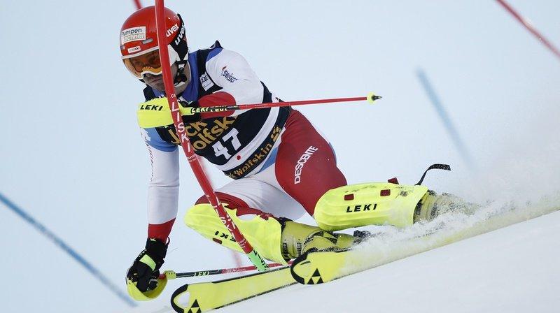 Ski alpin: Urs Kryenbühl s'est blessé à un pied lors de l'entraînement de la descente de Wengen