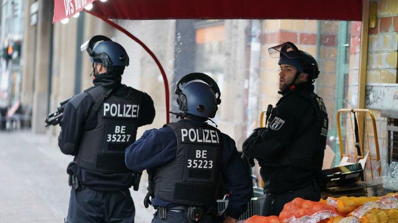 Coups de feu à Berlin: opération de police en cours