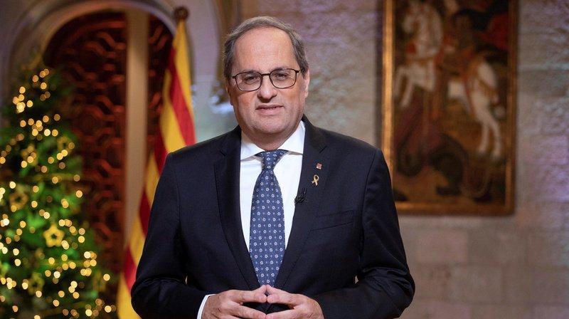 Quim Torra pourrait perdre la présidence de la région catalane. (Archives)