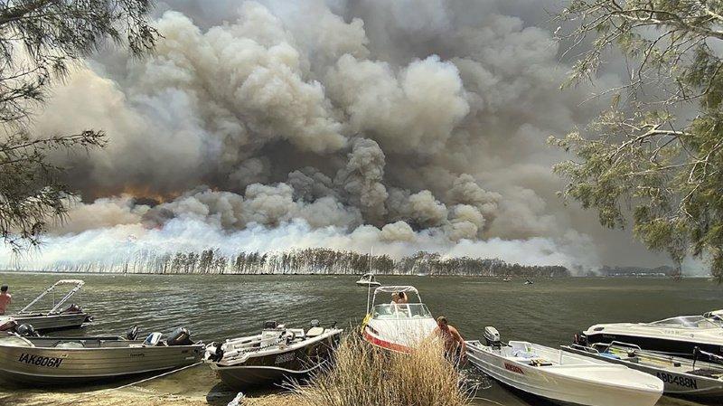 Incendies en Australie: voyageurs suisses en sécurité