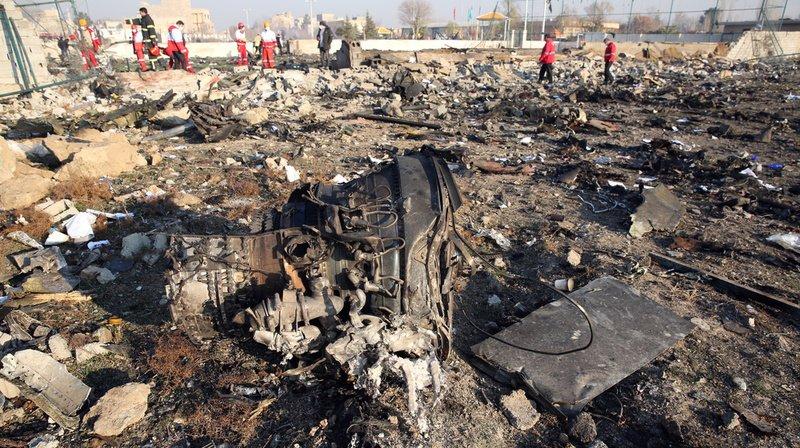 Crash du Boeing à Téhéran: un expert suisse s'oppose à la thèse du missile iranien