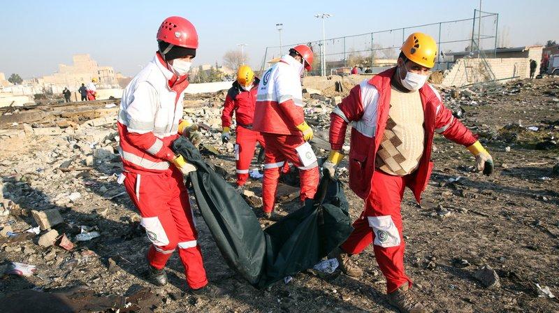 Le crash est survenu à Téhéran, en Iran.