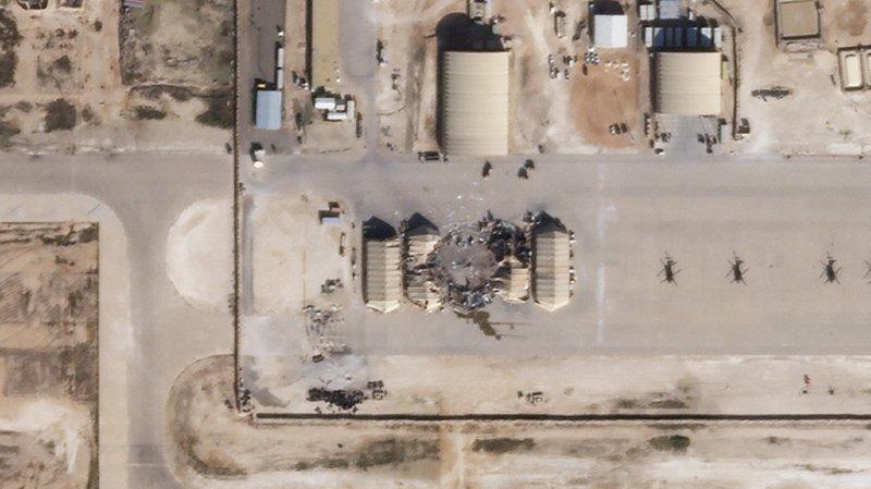 Irak: des roquettes sont tombées près d'une base abritant des troupes américaines