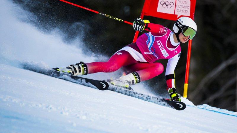 La jeune femme du ski-club Romand-Bienne enchaîne les médailles autour de son cou.