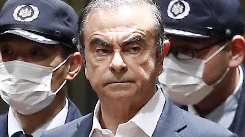 Automobile: une vidéo montre que Ghosn a quitté seul sa résidence à Tokyo
