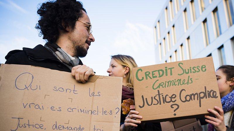 Les militants pro-climat ont été acquittés par la justice vaudoise à Renens. (Archives)