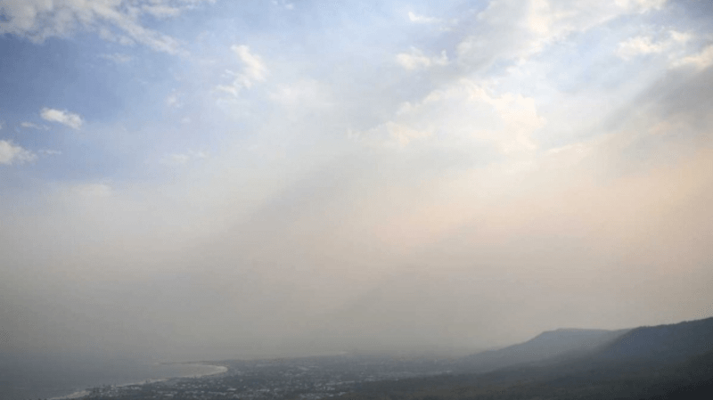 Incendies australiens: fumées jusqu'en Amérique du Sud