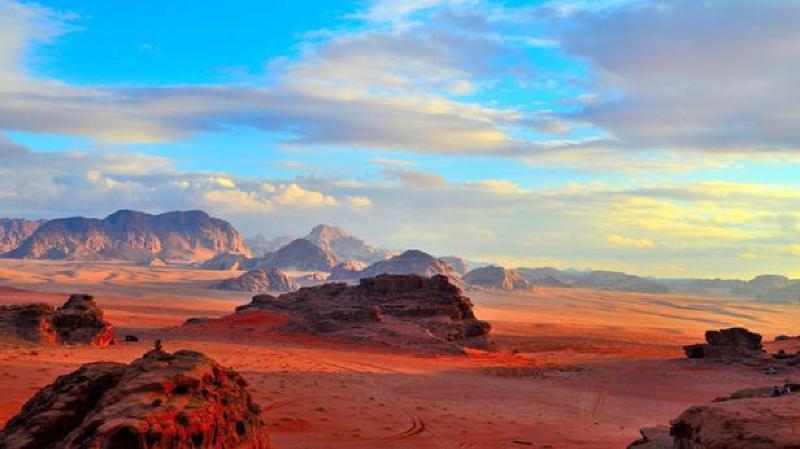 Plusieurs scènes du nouvel épisode de Star Wars ont été tournées dans le désert du Wadi Rum, en Jordanie, non loin de Pétra.