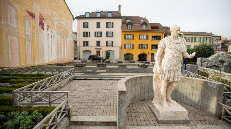 Nyon: l'esplanade Jules César se cherche une nouvelle identité