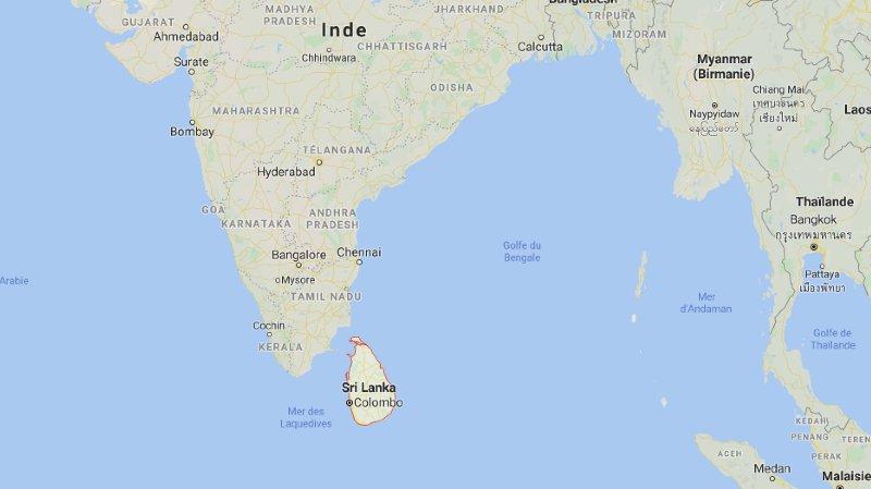 Sri Lanka: l'employée de l'ambassade suisse bloquée à Colombo a été arrêtée