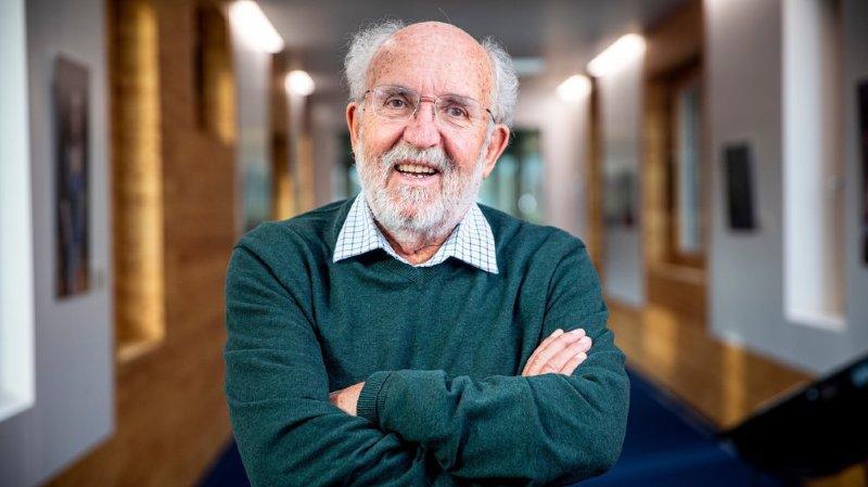 Michel Mayor: «Lors de l'annonce du prix Nobel, je faisais du baby-sitting»